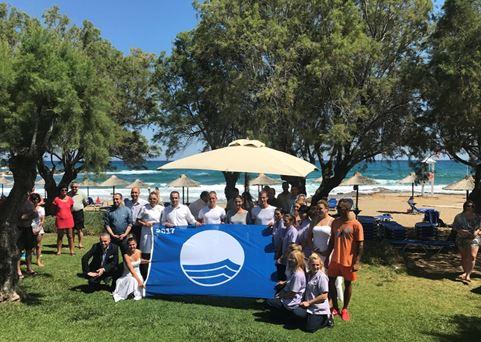 Το διεθνές βραβείο της «Γαλάζιας Σημαίας» σε τρία ξενοδοχεία του ομίλου SBOKOS HOTEL GROUP