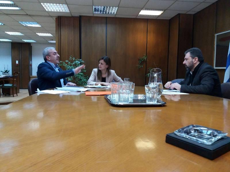 Στην Υπουργό Εργασίας ο Σωκράτης Βαρδάκης για εργασιακά θέματα και στελέχωση υποκαταστημάτων ΕΦΚΑ