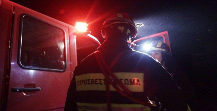 Στις… φλόγες εγκαταλελειμμένο σπίτι στον Μυλοπόταμο