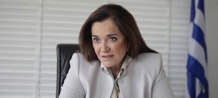 Στην Κρήτη η Ντόρα Μπακογιάννη