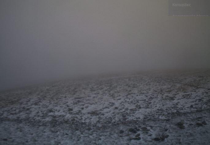 Επεσε το πρώτο χιόνι- Δείτε την πρόγνωση του καιρού