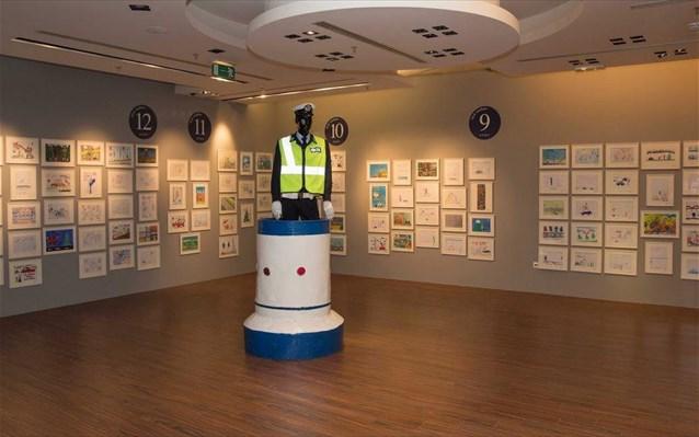 Εγκαίνια της έκθεσης ζωγραφικής «η οδική ασφάλεια μέσα από τα μάτια των παιδιών» στα Χανιά Κρήτης