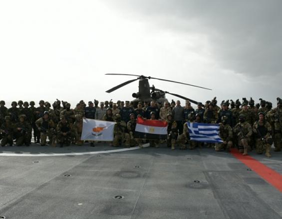 Κρήτη: Εντυπωσιακές εικόνες από τη μεγάλη στρατιωτική άσκηση «ΜΕΔΟΥΣΑ 7»