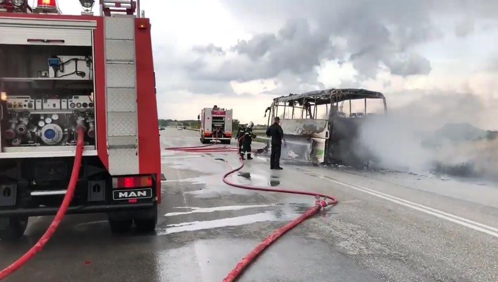 Κεραυνός χτύπησε λεωφορείο του ΚΤΕΛ Έβρου γεμάτο επιβάτες