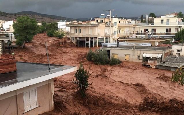 Αλληλεγγύη στους πληγέντες από τις πλημμύρες στη Δυτ. Αττική