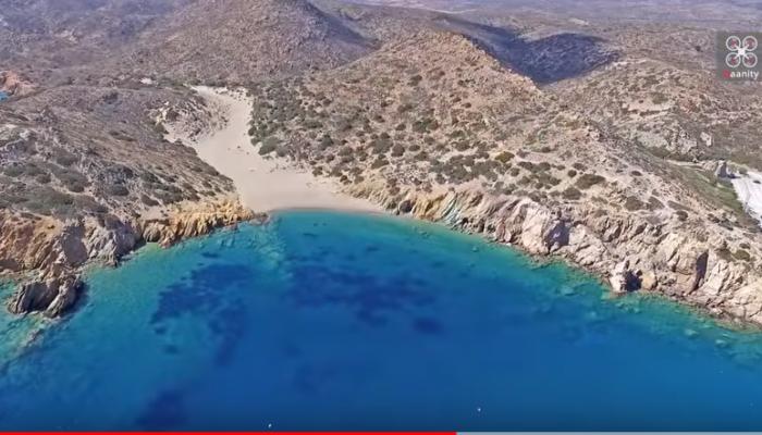Η εξωτική παραλία της Κρήτης με το μεγαλύτερο Φοινικόδασος της Ευρώπης