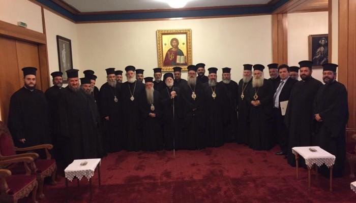 """Καταπέλτης η Ιερά Σύνοδος της Εκκλησίας της Κρήτης για την """"συμφωνία"""""""