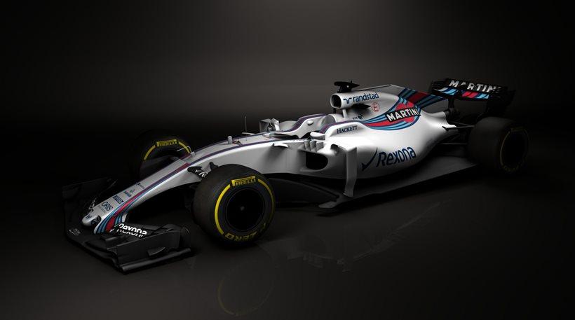 F1 2017: Ιδού η νέα Williams FW40! (vid)