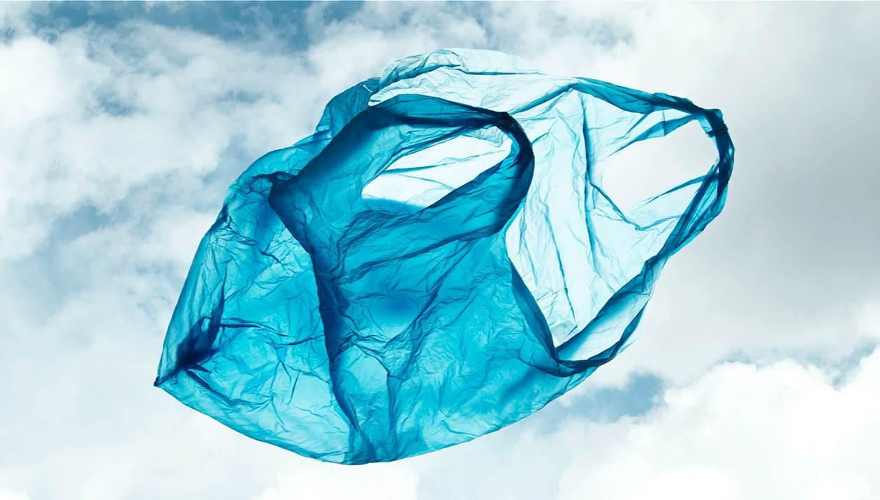 Σήμα SOS για μια σακούλα με έγγραφα