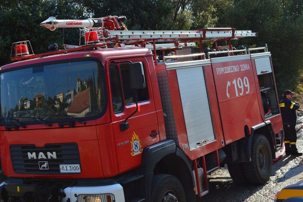 Νέα φωτιά στον καταυλισμό Ρομά στο Ηράκλειο