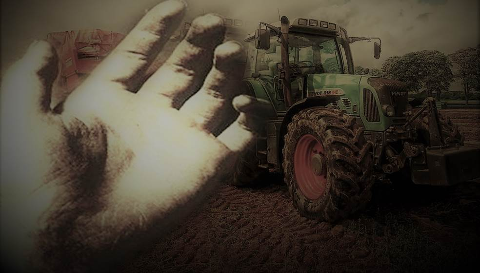 Τραγωδία στα Κάτω Μούλια - Αγρότης έπεσε με το τρακτέρ του σε γκρεμό 250 μ.