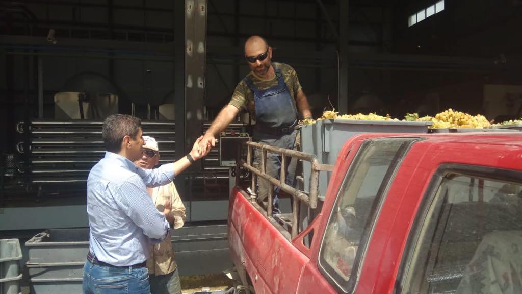 Επίσκεψη Αυγενάκη στην ΕΑΣΗ - Συνάντηση με αμπελουργούς για τις πρόσφατες καταστροφές