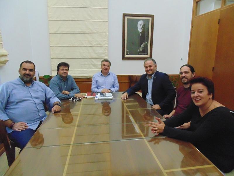 Συνάντηση Περιφερειάρχη με διοίκηση Ελληνικής Ομοσπονδίας Αθλητισμού Κωφών