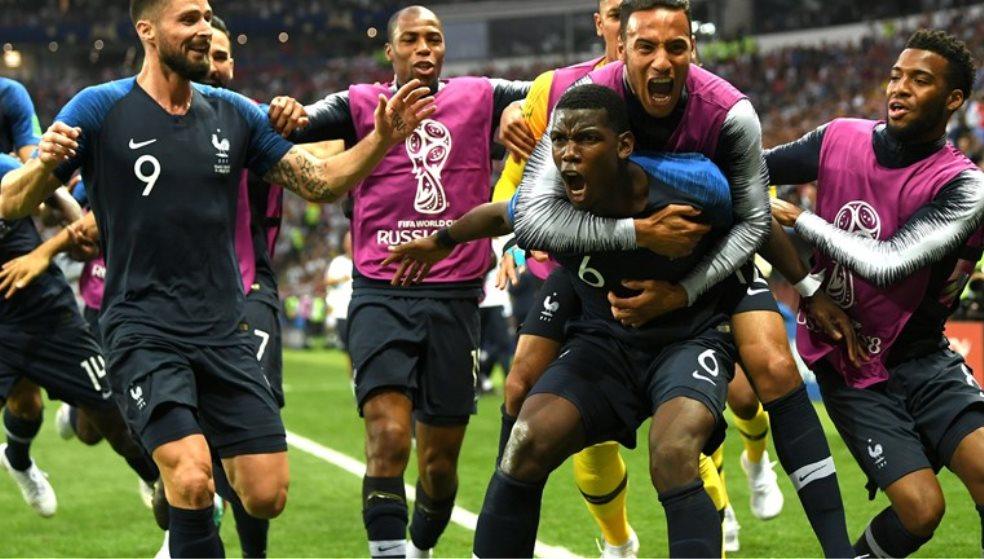 Στην κορυφή του κόσμου η Γαλλία, 4-2 την Κροατία σ' έναν εντυπωσιακό τελικό!