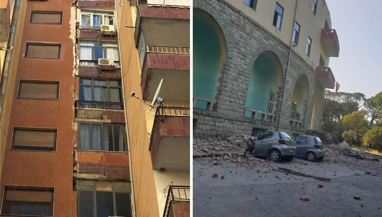 Σεισμός στην Αλβανία: Ζημιές και δύο τραυματίες στο νοσοκομείο