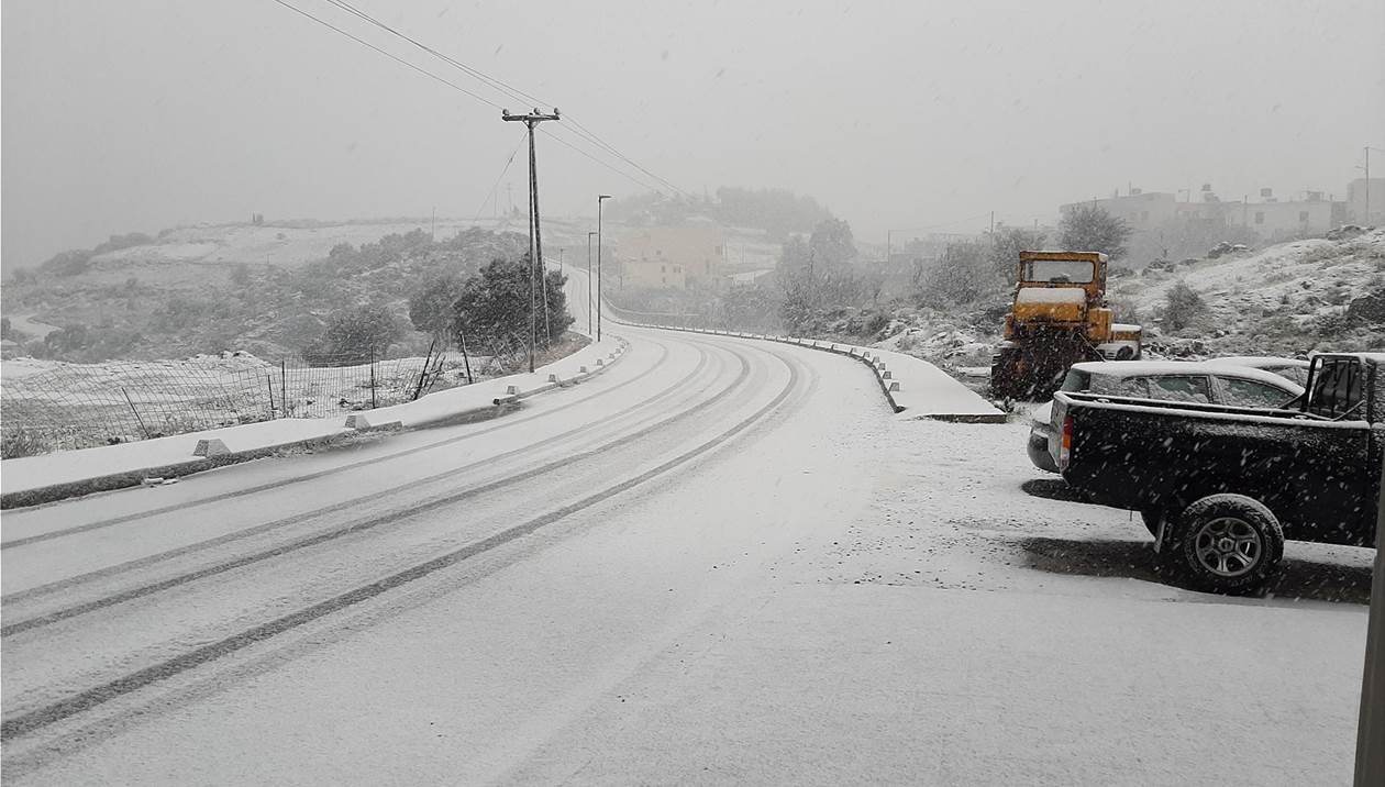 Χιονισμένες και μαγευτικές οι βουνοκορφές της Κρήτης!