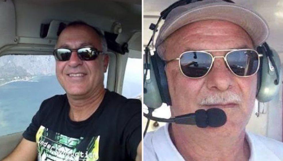 Αυτοί είναι οι δύο νεκροί από την πτώση του μοιραίου αεροσκάφους στη Φωκίδα
