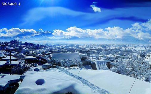 Εικόνες που εντυπωσιάζουν στο Οροπέδιο Λασιθίου μετά τη σφοδρή χιονόπτωση (vid)