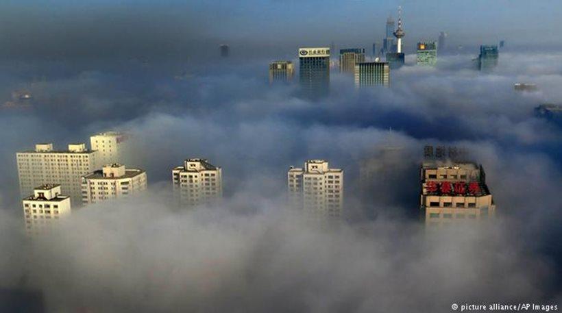 Σύννεφο νέφους θα καλύψει την βόρεια Κίνα αλλά το κρύο θα σώσει την κατάσταση