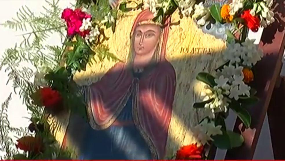 Η Κόξαρη τίμησε τον Άγιο Κήρυκο και τη Μητέρα του