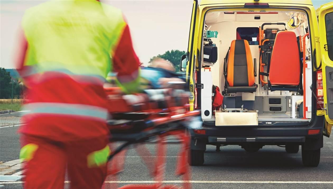 Τροχαίο με τραυματισμό κοντά στο ΠΑΓΝΗ - Μία γυναίκα στο νοσοκομείο