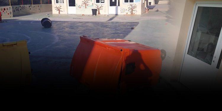 Βανδαλισμός σε δημοτικό σχολείο στο Ηράκλειο