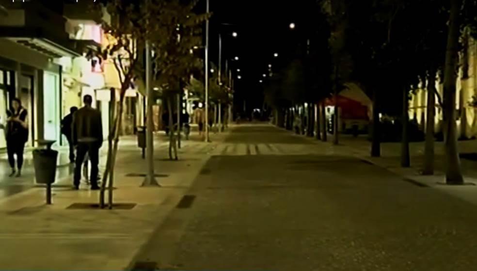Άδειο το κέντρο του Ηρακλείου μετά την ανακοίνωση των μέτρων