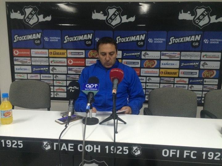 Παπαδόπουλος: «Αξίζουν πολλά μπράβο στους παίκτες μου»