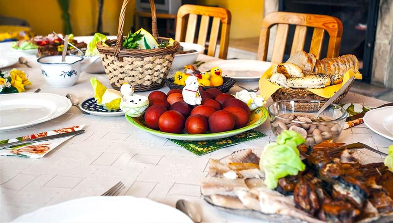 Πολύτιμες συμβουλές για το πασχαλινό τραπέζι