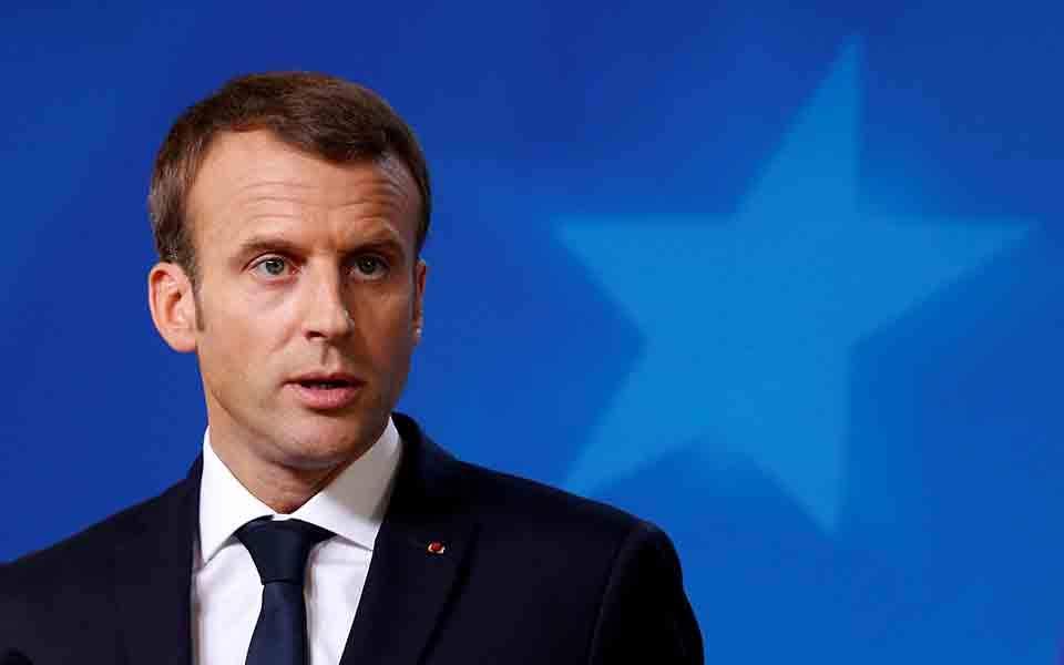 Μακρόν: Η Ευρώπη δεν πρέπει να απομονώσει τους προέδρους Τραμπ και Πούτιν