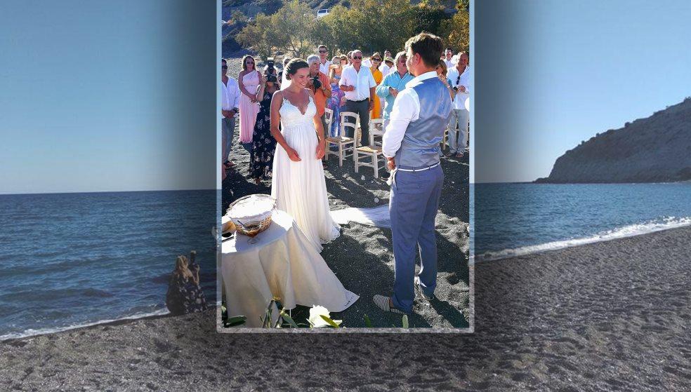 Ένας ονειρεμένος γάμος σε παραλία της Ιεράπετρας