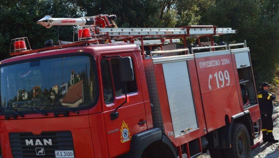 Ηράκλειο: Πυρκαγιά σε διαμέρισμα – Στο νοσοκομείο μία γυναίκα