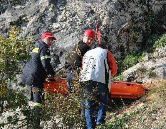 Επιχείρηση διάσωσης για τουρίστρια που τραυματίστηκε κάνοντας πεζοπορία