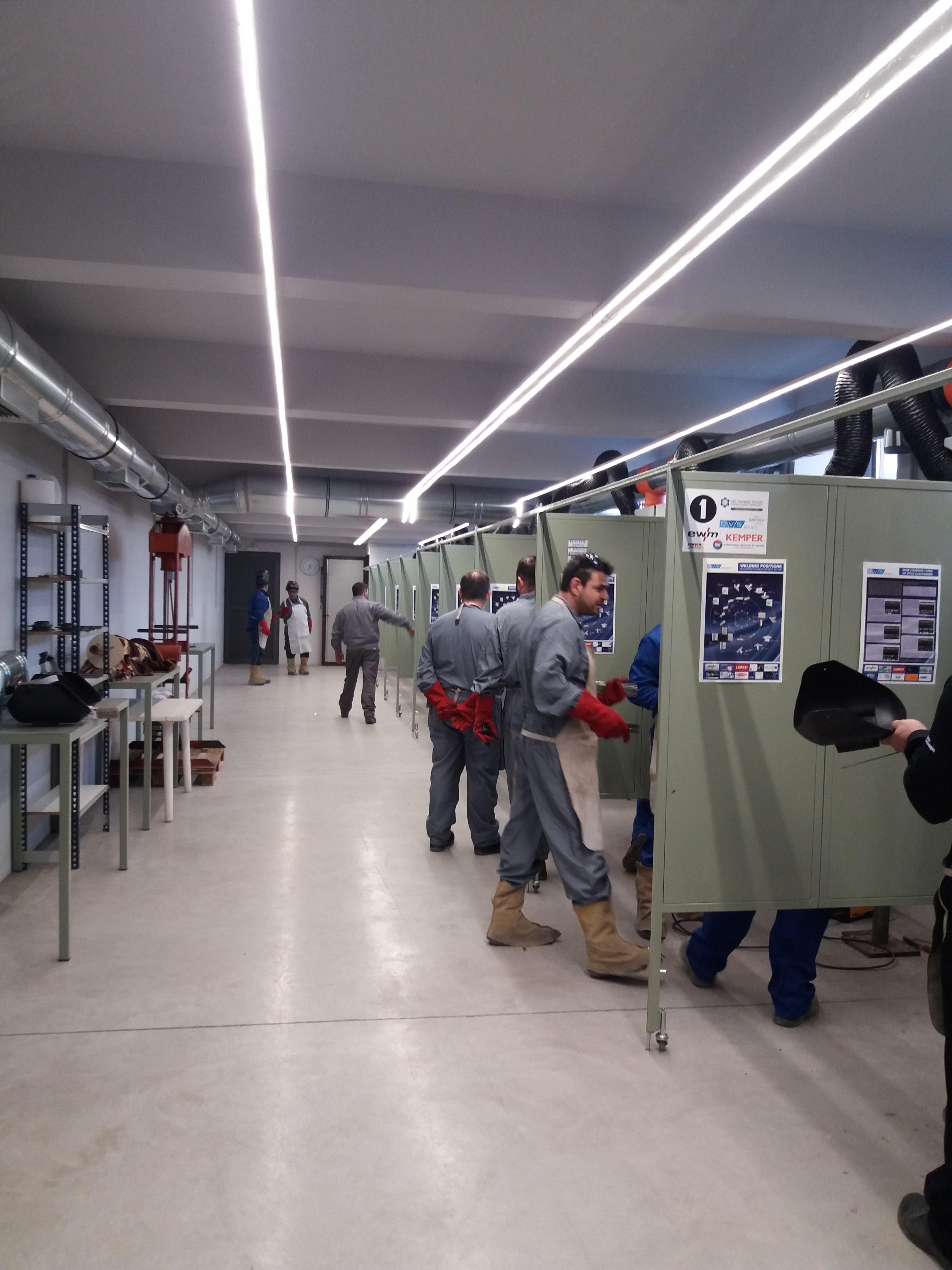 Στη Γερμανία για μετεκπαίδευση - ηλεκτροσυγκολλητές από το Ηράκλειο