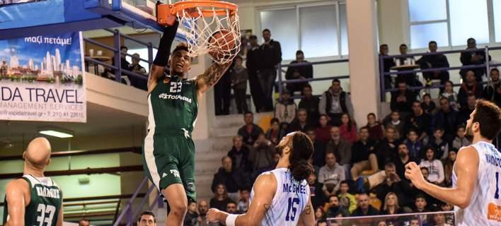 Stoiximan Basket League: «Τρένο» και με την Κύμη ο Παναθηναϊκός