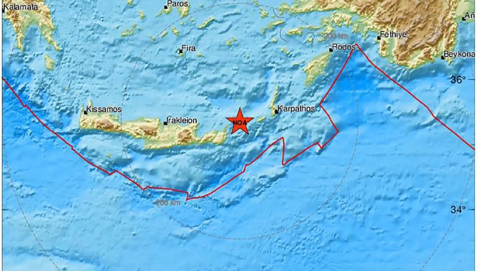Σεισμός: Σε «ρυθμούς» Ρίχτερ η Κρήτη - Μετά τα 5,3 Ρίχτερ, υπήρξαν και άλλες δονήσεις