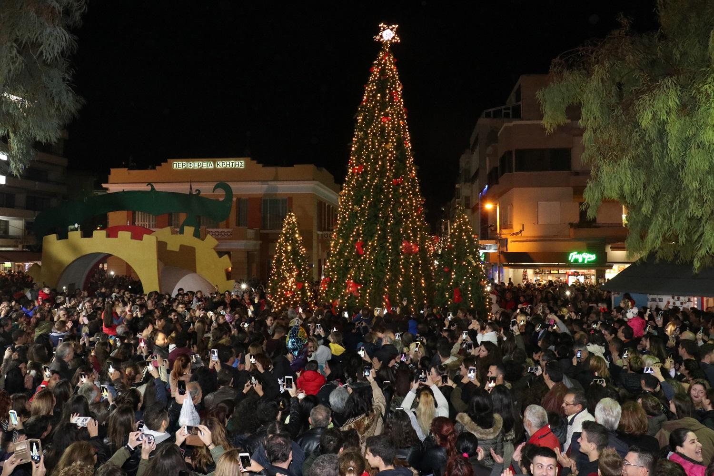 Οι Χριστουγεννιάτικες εκδηλώσεις στο Ηράκλειο την Δευτέρα 11 Δεκεμβρίου