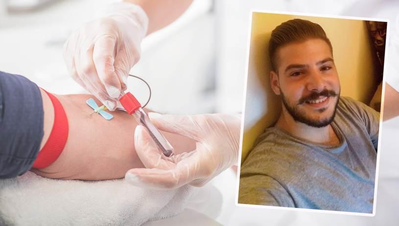 Συγκεντρώθηκε αίμα για τον 25χρονο Γιάννη - Το συγκινητικό «ευχαριστώ» του πατέρα