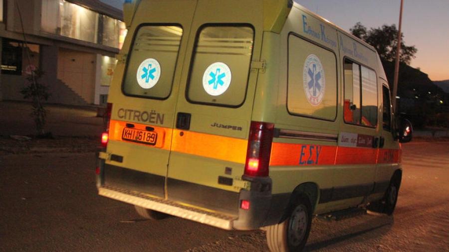 Τροχαίο στην Κρήτη: Εγκλωβίστηκε ο οδηγός στα.. συντρίμμια