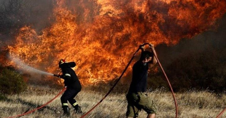 Υψηλός κίνδυνος πυρκαγιάς στην Κρήτη την Παρασκευή