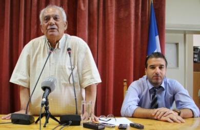 Αποχαιρετισμός του Σκουλάκη Μανώλη προς τους εργαζομένους του Δήμου Χανίων