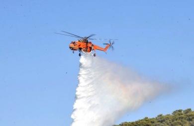 Μεγάλη φωτιά σε εξέλιξη στην Κίσαμο-Εκκενώνεταο ο οικισμός Λειβάδια
