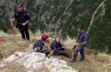 Τραγικό τροχαίο στο Ηράκλειο - Έπεσε σε χαράδρα με το αγροτικό του και σκοτώθηκε!