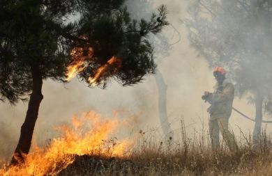 Συναγερμός στην πυροσβεστική για φωτιά στο Ίνι