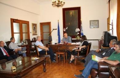 Σε κλίμα συνεργασίας η συνάντηση του Βάμβουκα με το Δ.Σ. του Δικηγορικού Συλλόγου Χανίων