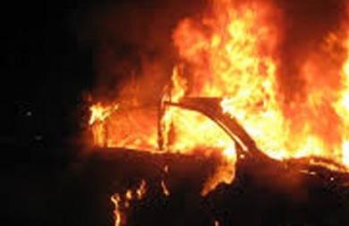 Οδηγός ΙΧ κάηκε ζωντανος μετά από τροχαίο