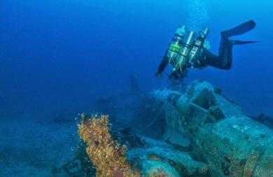 Βρέθηκαν πυρομαχικά στη θαλάσσια περιοχή της Νέας Χώρας Χανίων