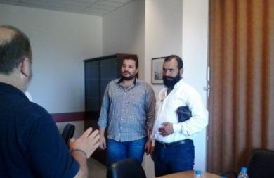 Συνάντηση Δαμαβολίτη - Ροκαδάκη για τα επιδόματα αναπηρίας