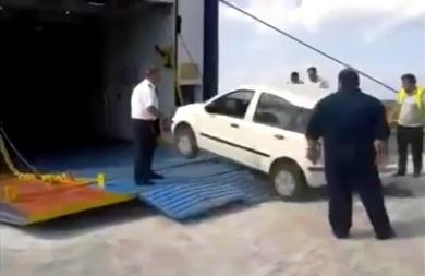 Έτσι φορτώνουν τα πλοία στην Ελλάδα! (vid)
