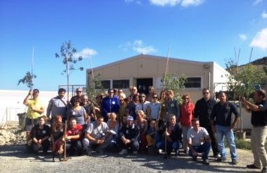 Δενδροφύτευση από δεκάδες εθελοντές στο Κυνοκομείο Ηρακλείου